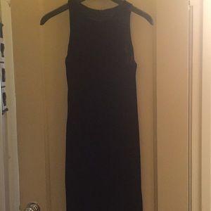 HALLOWEEN BLACK VELVET DRESS